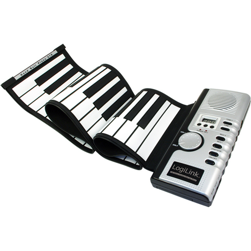 zwijane silikonowe pianino usb