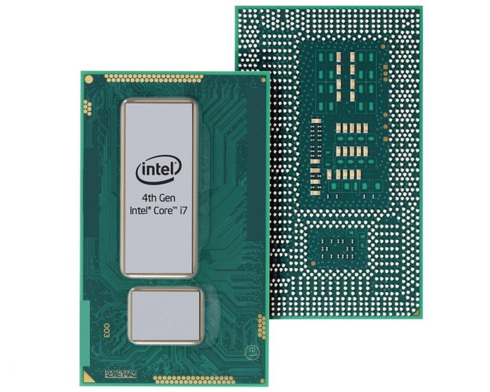 Intel Hawell - procesory 4 generacji architektury Core - CPU na podstawke BGA