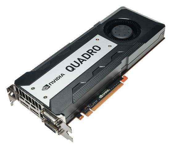 nVidia Quadro K6000 - wyglad