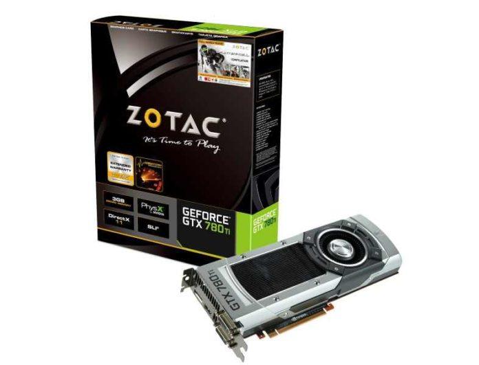 Zotac GeForce 780 Ti - wyglad