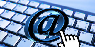 Sieć, email, mail, poczta