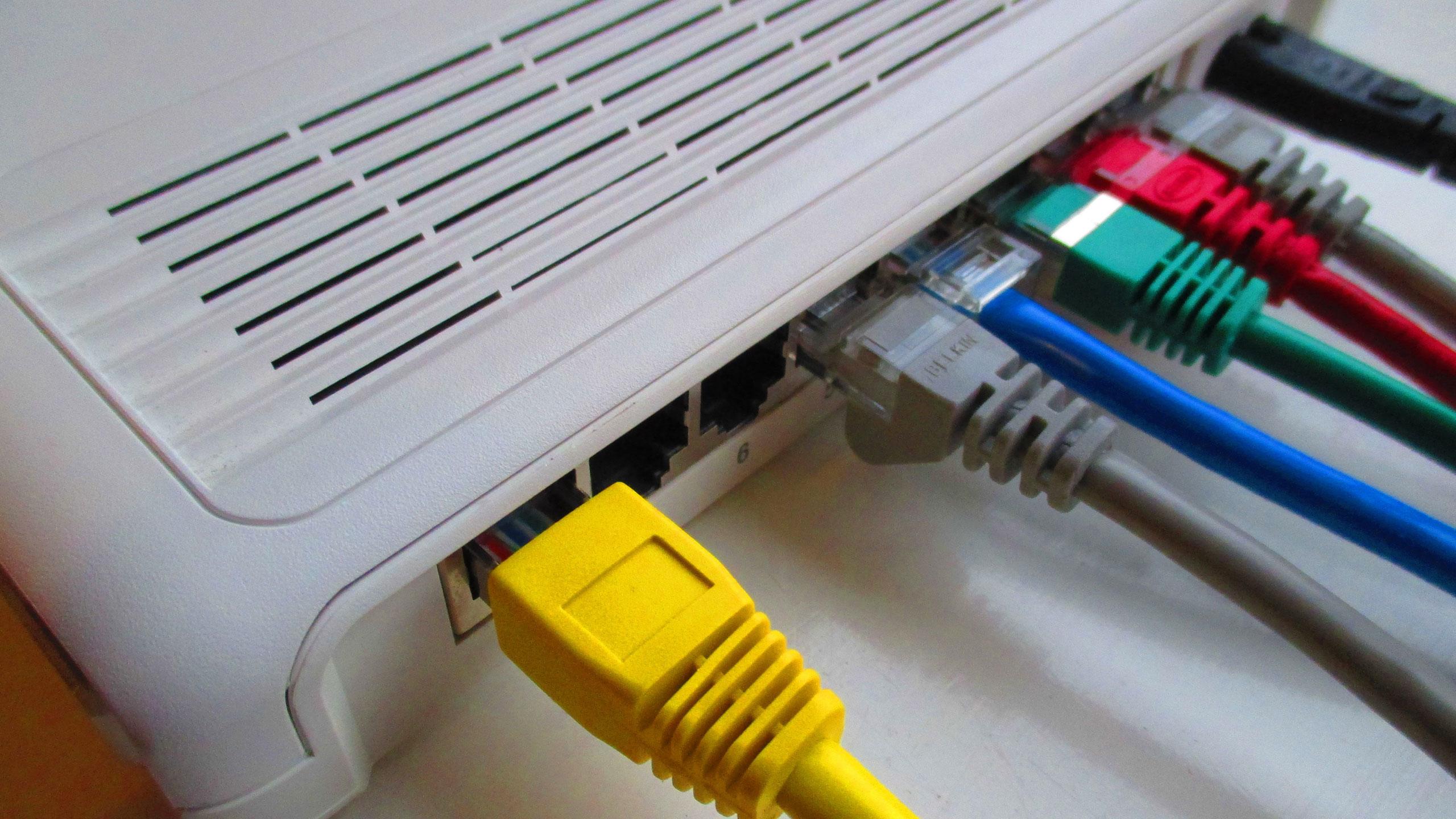 Sieć, sprzęt, switch, przełącznik