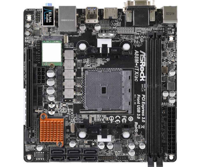 ASRock A88M-ITX/ac