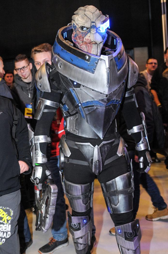Intel Extreme Master - cosplay