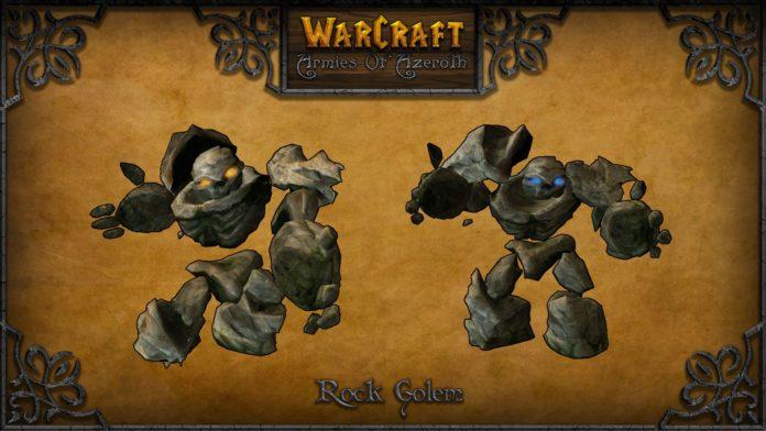 warcraft armies of azerot golem