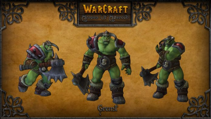 warcraft armies of azerot grunt