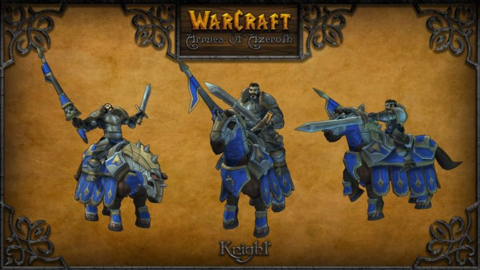 warcraft armies of azerot knight