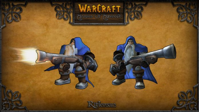 warcraft armies of azerot rifleman