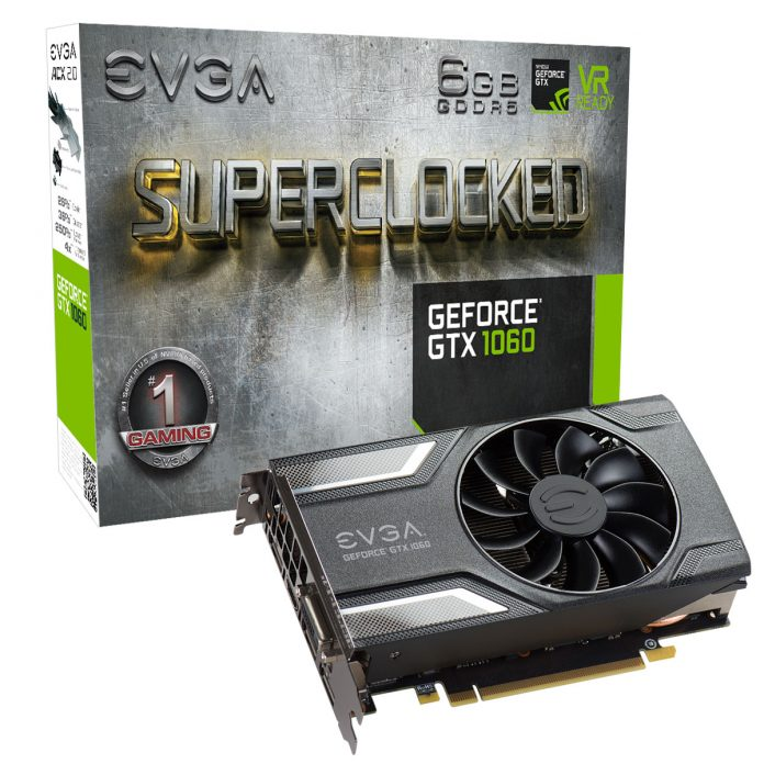 EVGA GeForce GTX 1060 SC GAMING