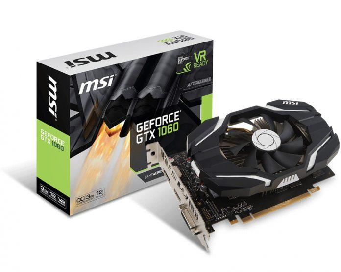MSI GeForce GTX 1060 OCV1 series