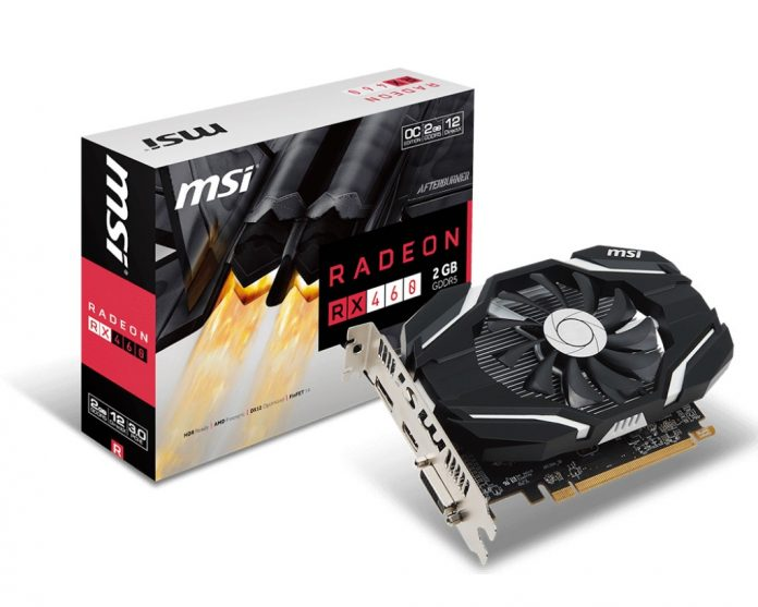 MSI Radeon RX 460 series