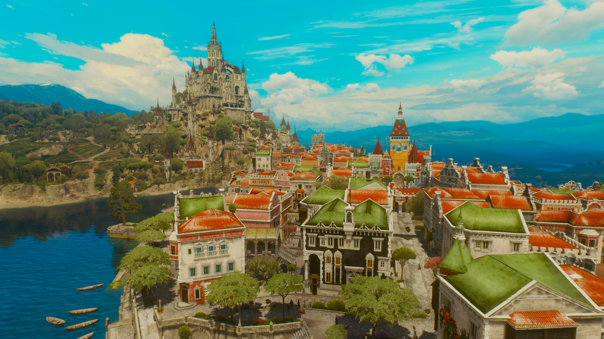 Wiedźmin Miasto