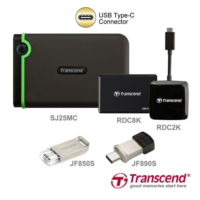 Transcend USB 3.1 type C