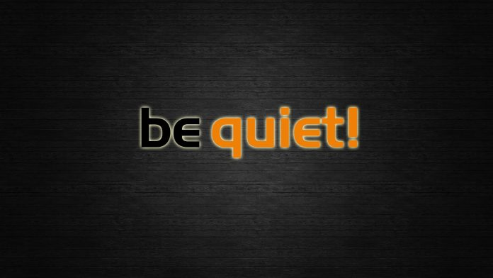 be quiet! logo