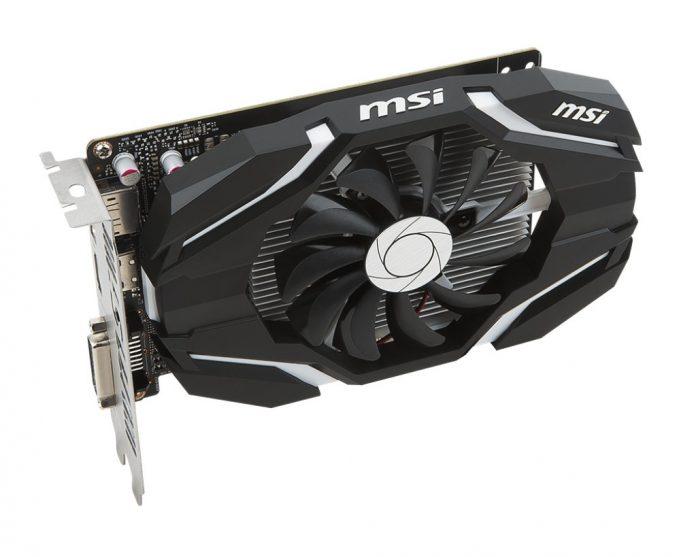 MSI GeForce GTX 1050 Ti 4G