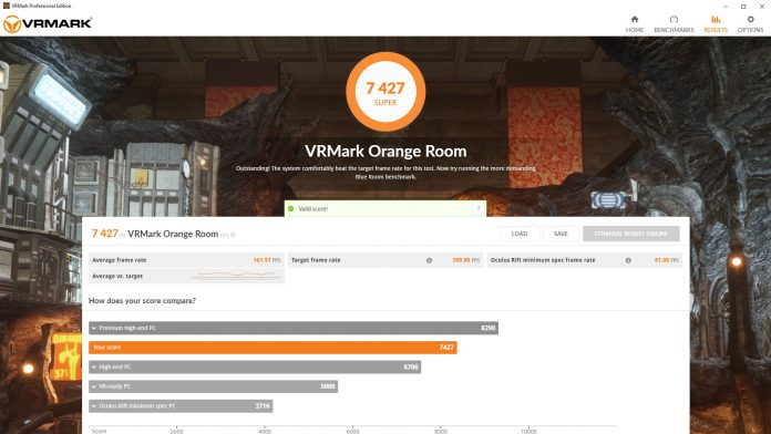 VRMark OrangeRoom