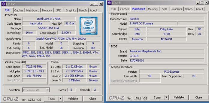Procesor Intel Core i7-7700K