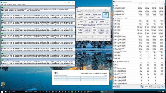 Intel Core i7-7700K po oskalpowaniu