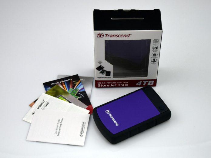 Transcend StoreJet 25H3 4 TB