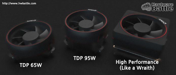 AMD Ryzen - chłodzenia procesorów