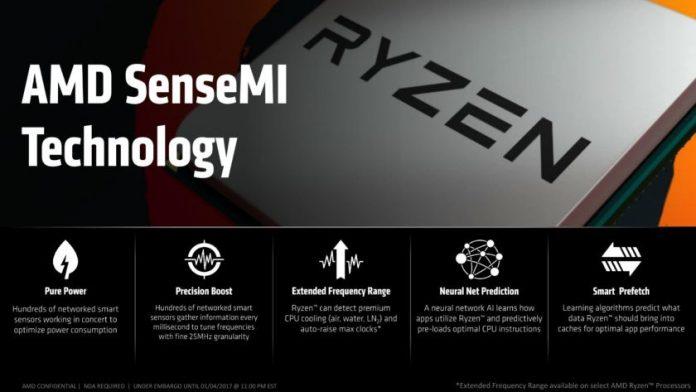 AMD Ryzen - SenseMI