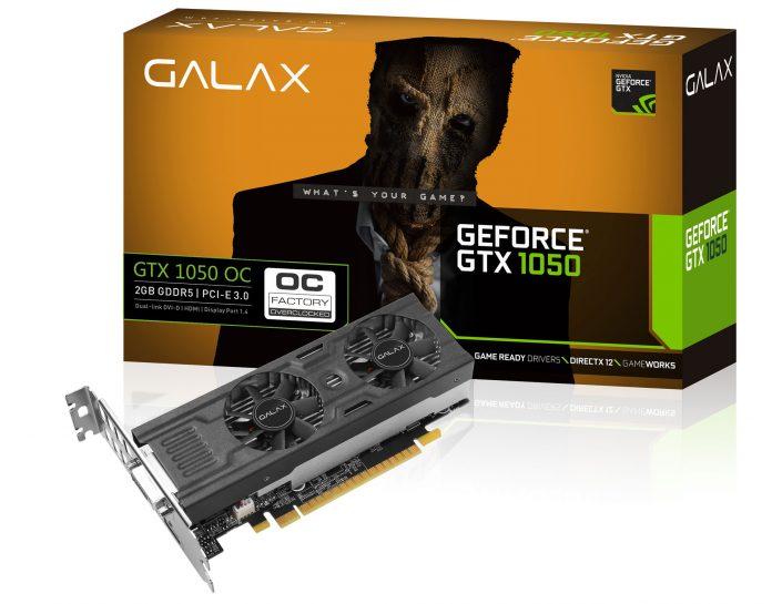 GALAX GeForce GTX 1050 OC LP