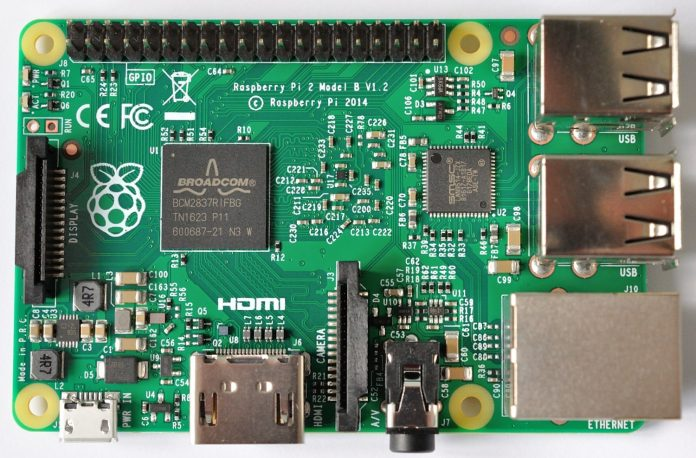 Raspberry Pi 2 Model B rev.1.2