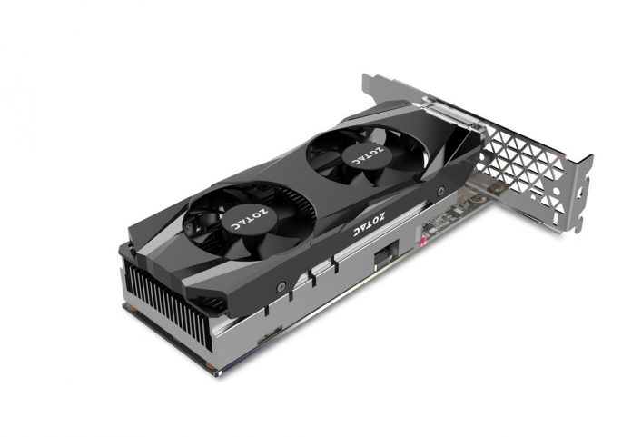 ZOTAC GeForce GTX 1050 Ti Low Profile