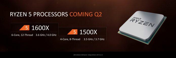 AMD R5 na horyzoncie - nieoficjalne dane dotyczące cen 1
