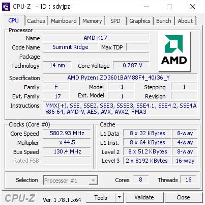 R71800X CPU-Z