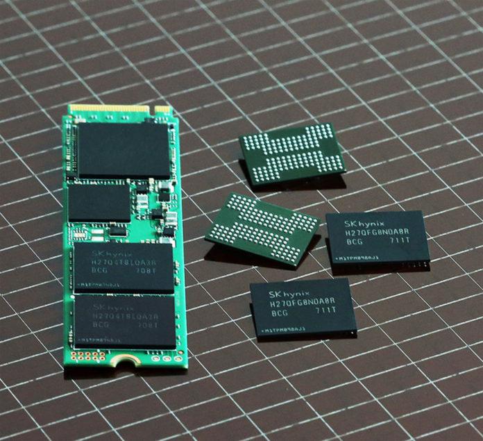 SK Hynix - 72 warstwowe pamięci 3D NAND Flash