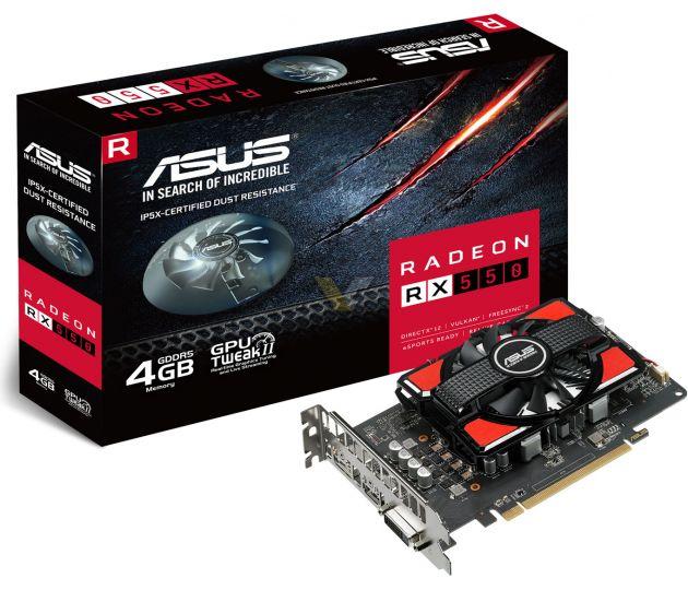 Asus Radeon RX 550 2G lub 4 G