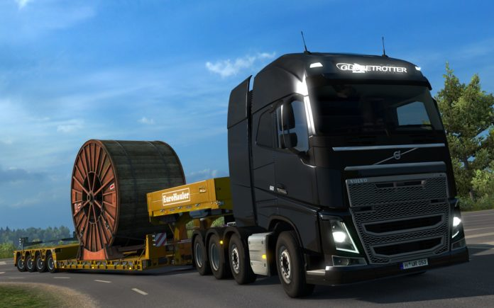 euro truck simulator  heavy cargo