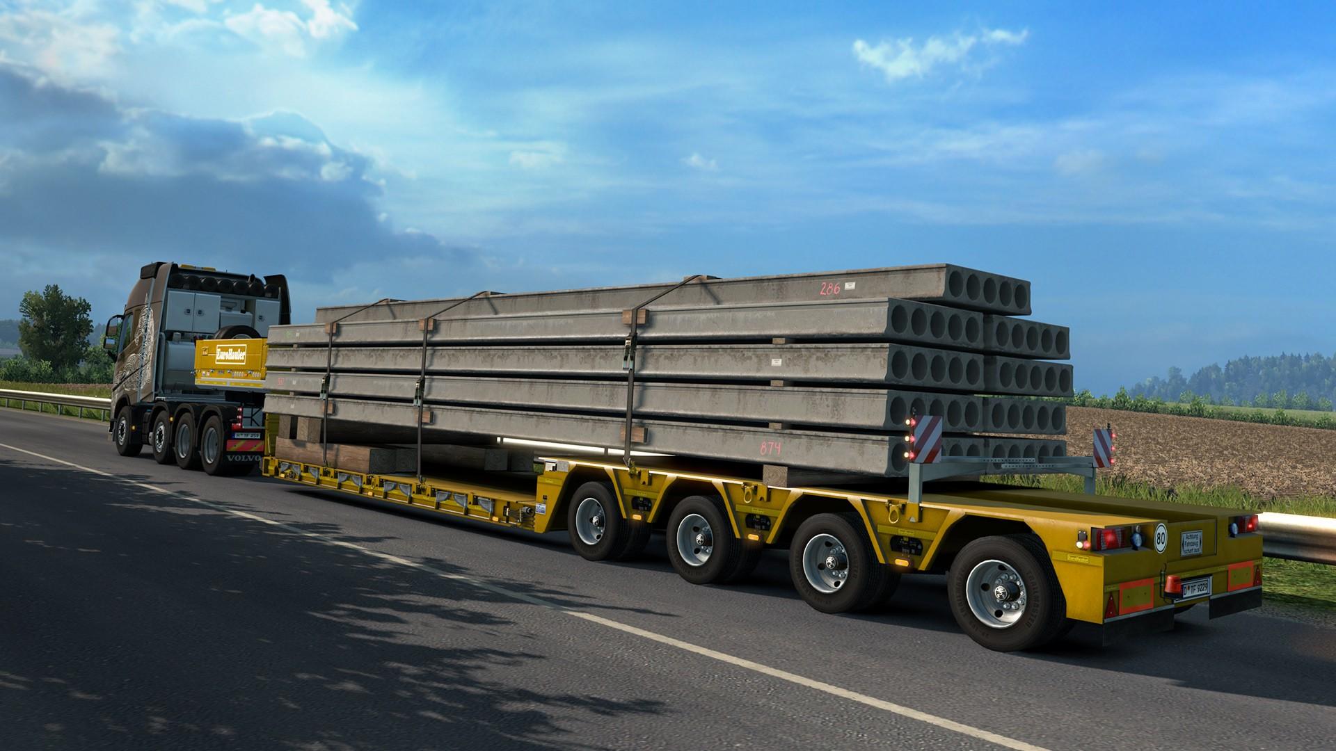 EuroTruckSimulator HeavyCargoPacks