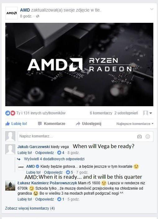 Polski oddział AMD - premiera kart Radeon RX Vega