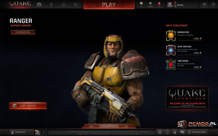 Quake Champions - czyli stary dobry Quake w nowej szacie graficznej 1