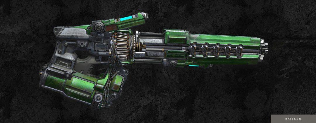 Quake gun