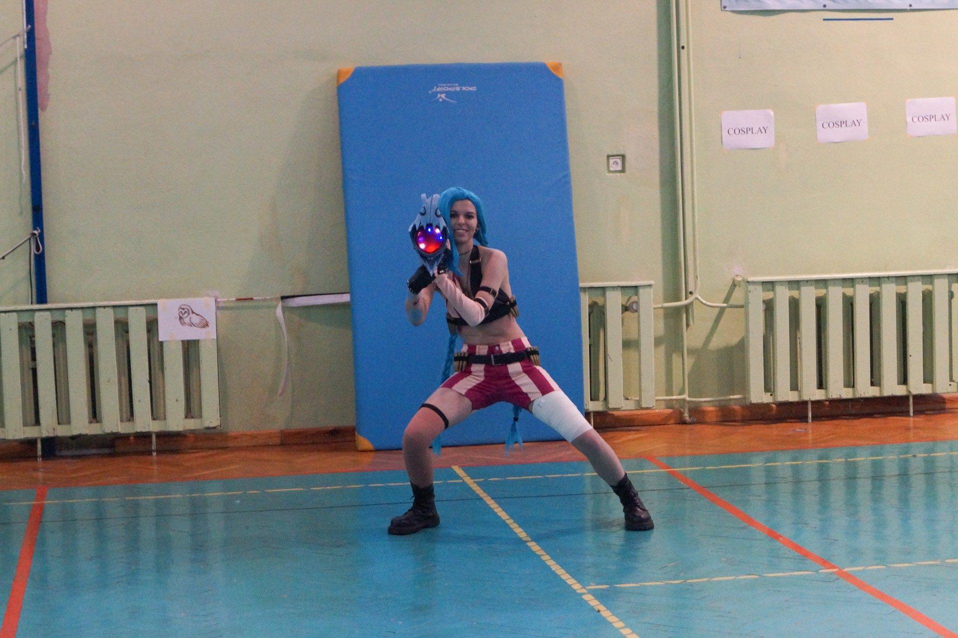 Arkhamer cosplay