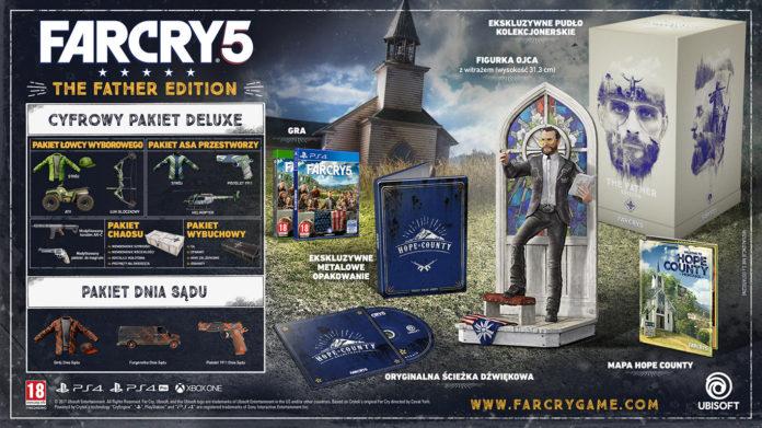 Ubisoft ujawniła zawartość edycji kolekcjonerskich Far Cry 5 2