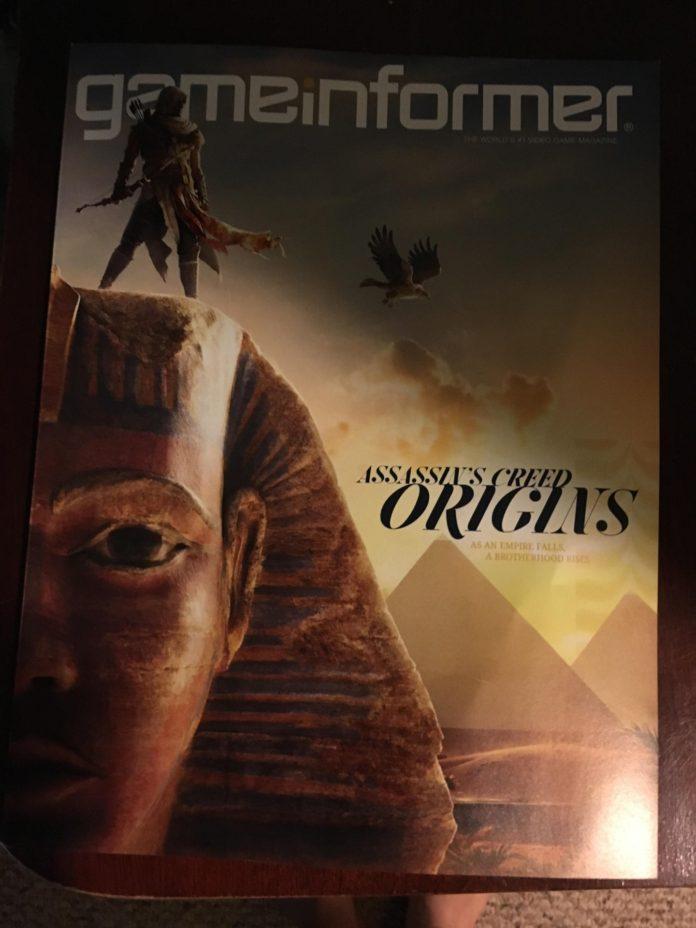 Game Informer z Assassin's Creed Origins