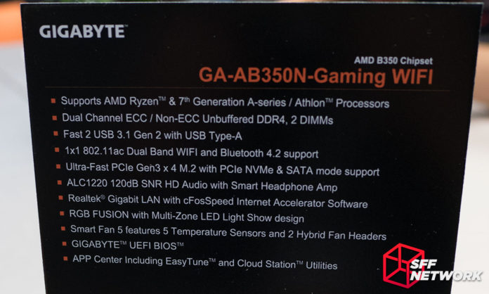 gigabyte ga ab350n gaming wifi 8