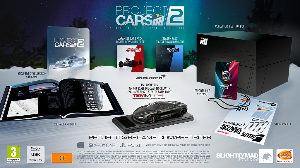 ProjectCARS Collector'sEdition