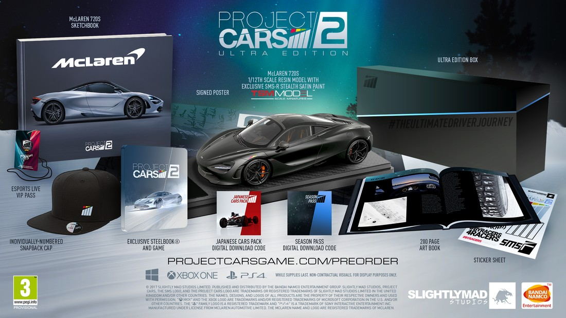 ProjectCARS UltraEdition