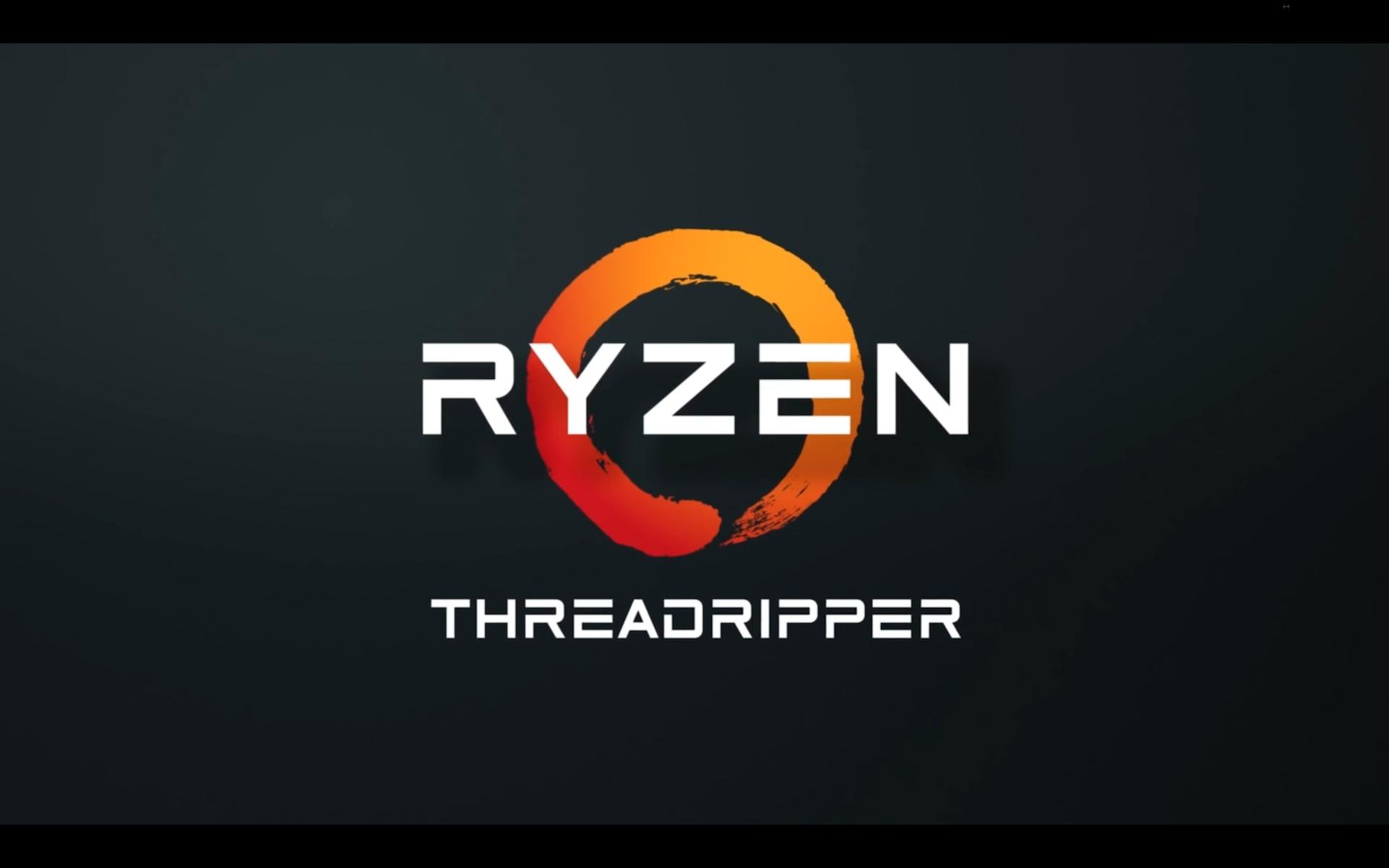 Threadripper Ryzen
