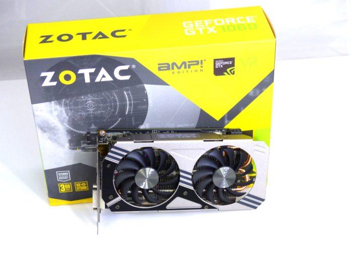 Zotac GeForce GTX 1060 3GB AMP! Edition