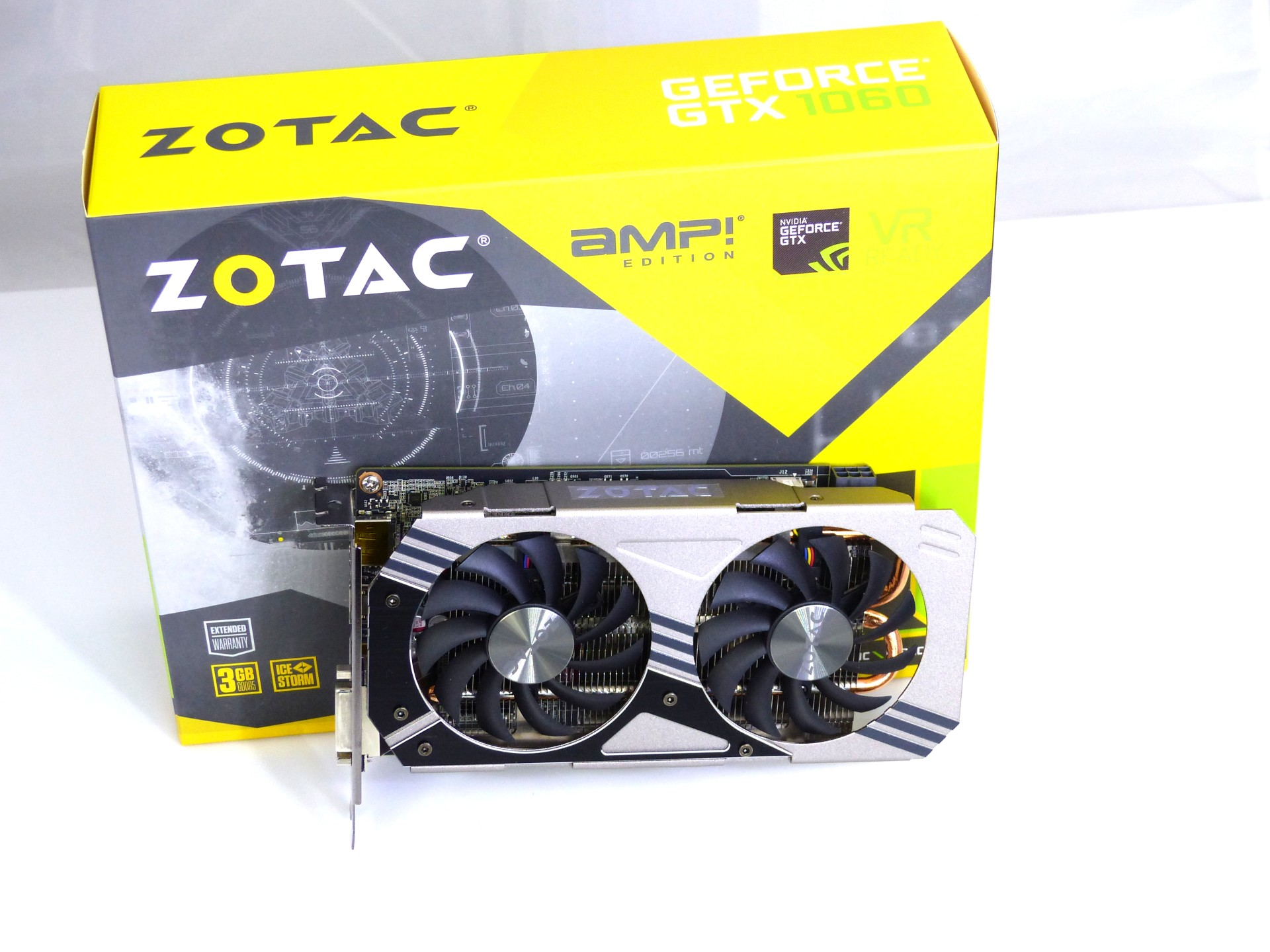 Karta graficzna Zotac GeForce GTX 1060 3GB AMP Edition