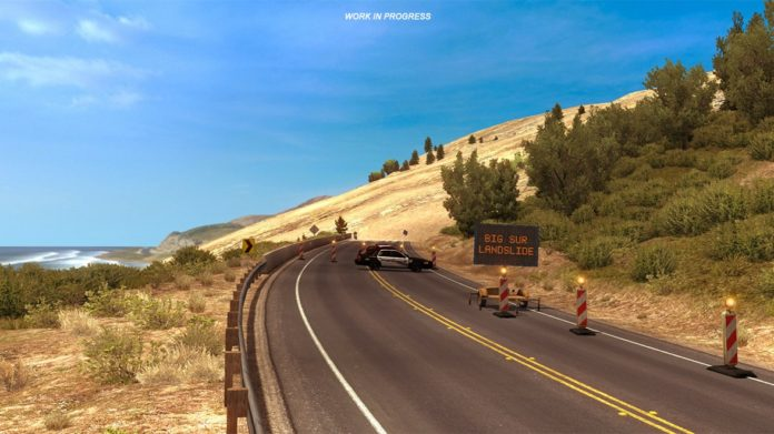 AmericanTruckSimulator CaliforniaStateRoute