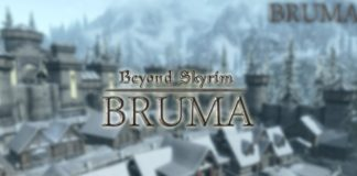 beyond skyrim bruma logo