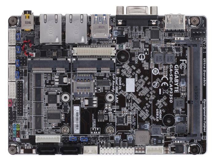 GA-SBCAP335 miniboard