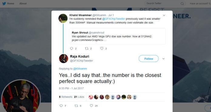 AMD Radeon RX Vega - Raja Koduri